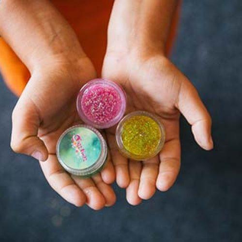 Glitter Face Paint